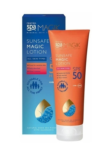 Dead Sea Spa Magik Dead Sea Spa Magik Sunsafe Magic SPF50 Lotion 150ml Renksiz